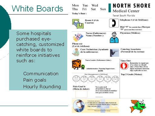 White Boards: Slide Presentation from the AHRQ 2007 Annual Conference
