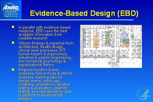 Evidence-Based Design (EBD): Slide Presentation from the AHRQ 2007 ...