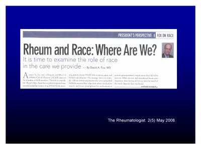 Slide 15. The Rheumatologist. 2(5) May 2008