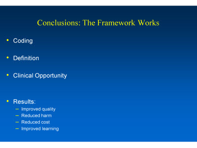 Slide 32. Conclusions: The Framework Works