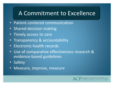 Slide 16. A Commitment to Excellence