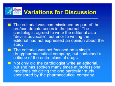 Slide 12. Variations for Discussion