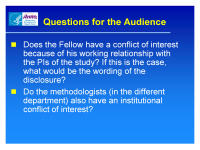 Slide 23. Questions for the Audience