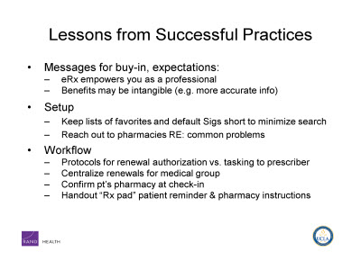Slide 14. Lessons from Successful Practices