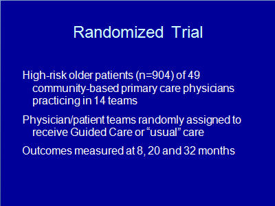 Slide 13. Randomized Trial