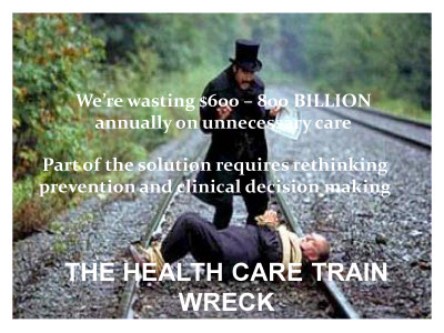 Slide 21. Image - THE HEALTH CARE TRAIN WRECK