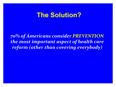 Slide 6. The Solution?