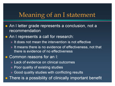 Slide 10. Meaning of an I statement