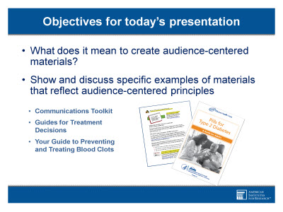 Creating Audience Centered Print Materials Text Version