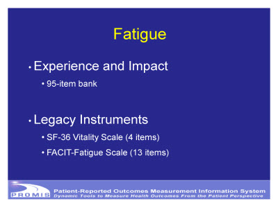 Slide 22. Fatigue