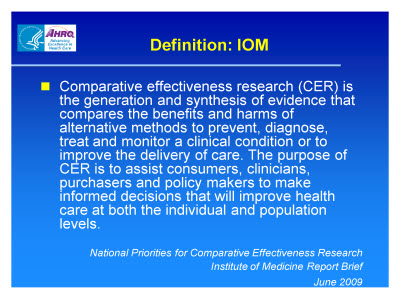 Slide 15. Definition: IOM