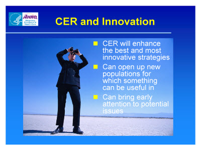 Slide 26. CER and Innovation