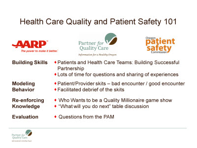 Slide 9. Health Care Quality and Patient Safety 101