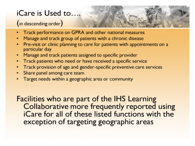 Slide 17. iCare is used to . . .