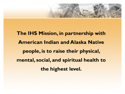 Slide 4. The IHS Mission