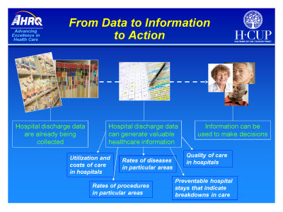 Slide 4. From Data to Information to Action