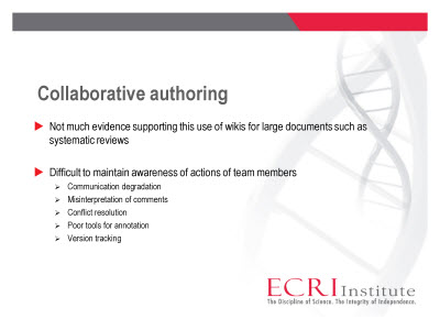 Slide 8. Collaborative authoring