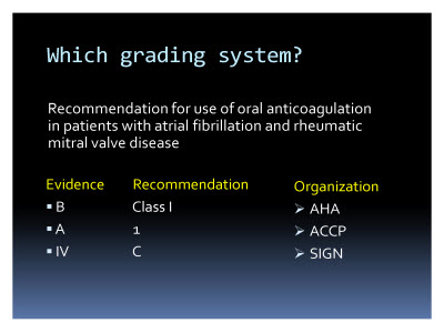 Slide  20. Which grading system?