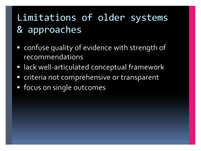 Slide  26. Limitations of older systems and approaches