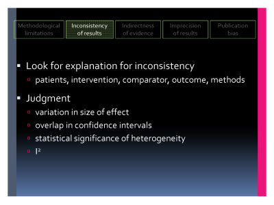 Slide  42. Inconsistency of results
