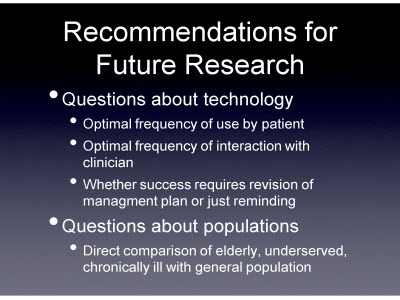 Slide 16. Recommendations for Future Research