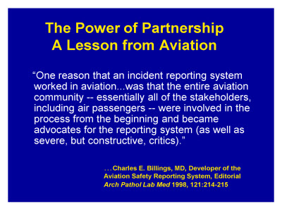 Slide 22. The Power of Partnership: A Lesson from Aviation