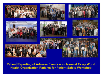 Slide 23. Patient Reporting of Adverse Events = an Issue at Every World Health Organization Patients for Patient Safety Workshop