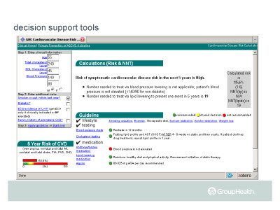 Slide 12. decision support tools