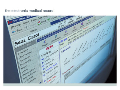 Slide 5. the electronic medical record