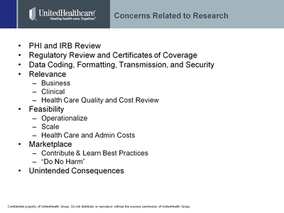 Slide 3. Concerns Related to Research