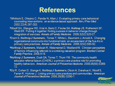 Slide 40. References