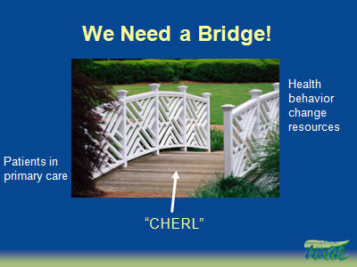 Slide 7. We Need a Bridge!