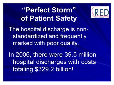 Slide 3. Perfect Storm of Patient Safety