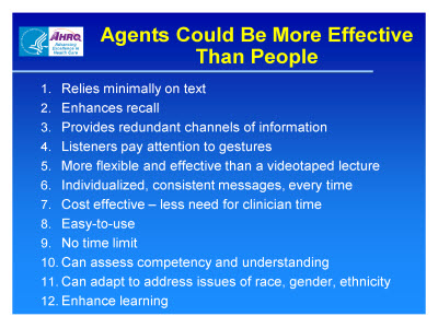 Slide 61. Agents Could Be More Effective Than People
