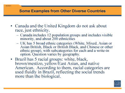 Slide 5. Some Examples from Other Diverse Countries