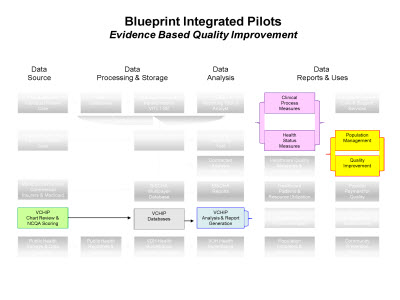 Slide 7. Blueprint Integrated Pilots: Evidence Based Quality Improvement