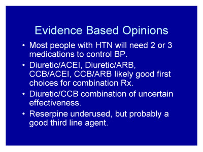 Slide 12. Evidence Based Opinions