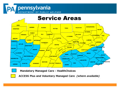 Slide 3. Service Areas