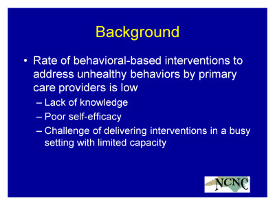 Slide 3. Background