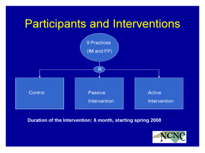 Slide 7. Participants and Interventions