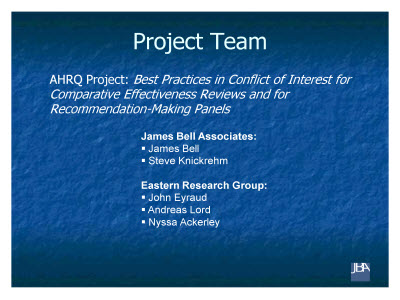 Slide 2. Project Team