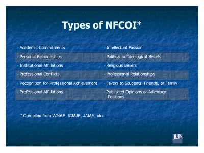 Slide 7. Types of NFCOI