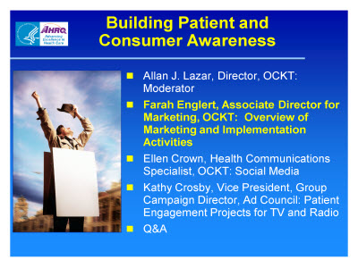 Slide 12. Building Patient and Consumer Awareness