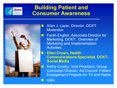 Slide 30. Building Patient and Consumer Awareness