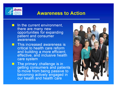 Slide 4. Awareness to Action