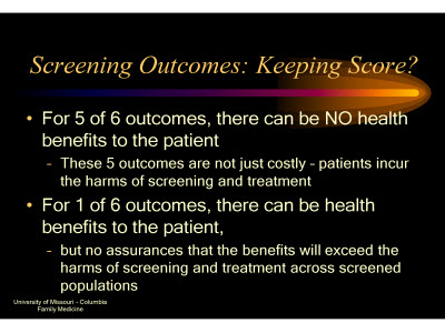 Slide 23. Screening Outcomes: Keeping Score?
