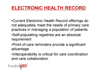 Slide 2. Electronic Health Record