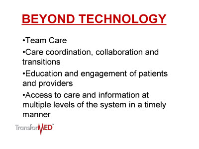 Slide 4. Beyond Technology