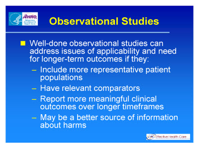 Slide 28. Observational Studies