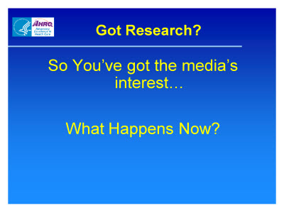 Slide 14. Got Research?